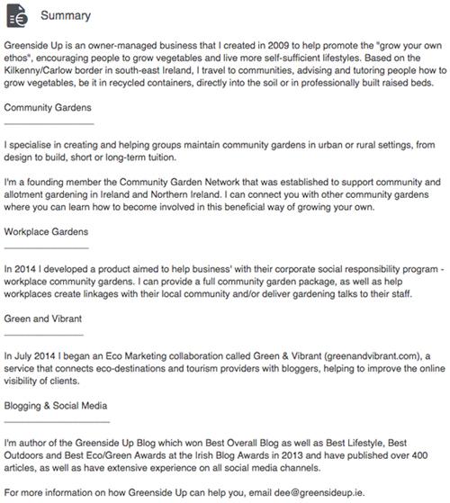 Dee Sewell LinkedIn profile