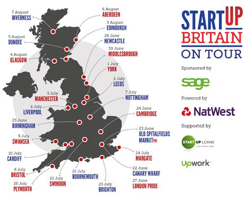 StartUp Britain Bus Tour 2015