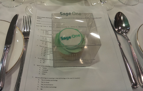 Sage One cupcakes