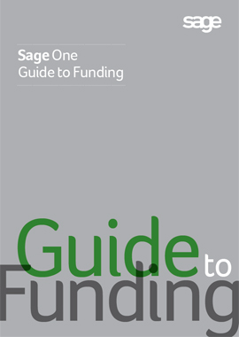 Download the free 'Sage One Guide to Funding'