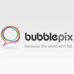 BubblePix - Because the world isn't flat