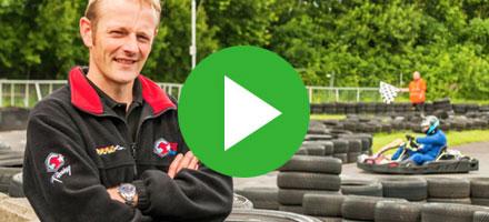 Iain Brown | Cambuslang Karting | Sage One Payroll User