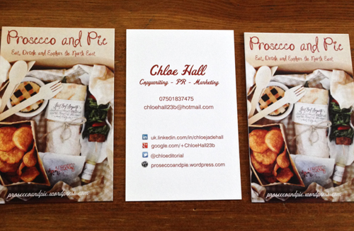 Chloe Hall's business cards and contact info