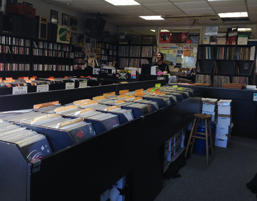 Inside Crazy Beat Records
