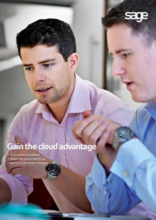 Download our free Gain the cloud advantage guide