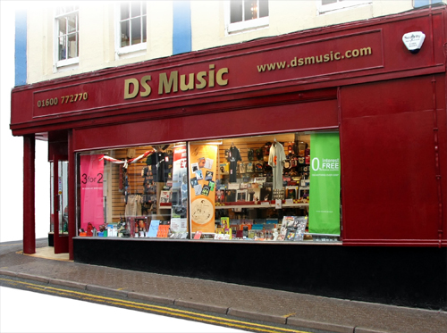 The DS Music shop