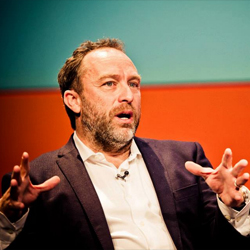 Jimmy Wales (Wikipedia) at Accelerate 2013, Liverpool