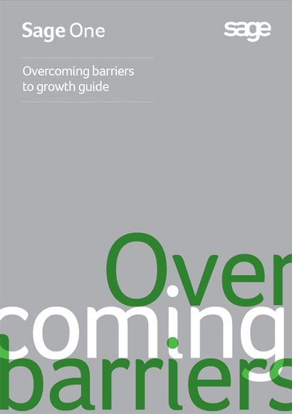 Overcoming barriers to growth guide by Sage One UK