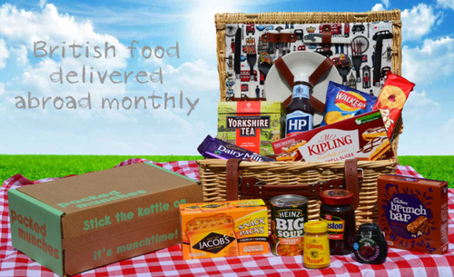 Packed Munches 'hamper'