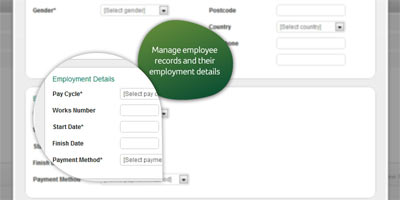 Sage One Payroll: Manage your payroll online