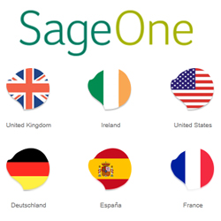 Sage One UK, Ireland, USA, Germany, Spain & France