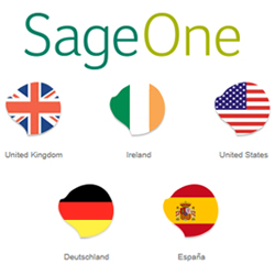 Sage One UK, Ireland, USA, Germany and Spain