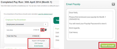 Payslip Improvements in Sage One Payroll - Sage One blog