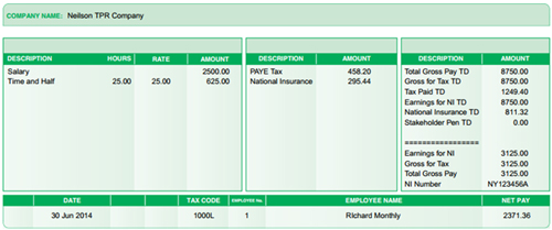 Wonderful So How Can I Choose One Of The New Payslip Templates? Pertaining To Free Payslip Template Uk