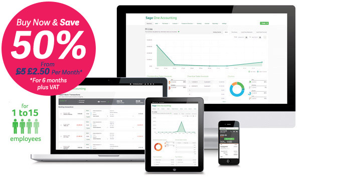 Sage One Payroll | Payroll online software now from just £2.50 Per Month +VAT