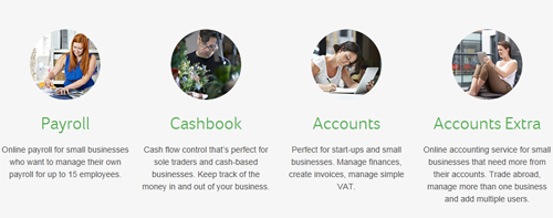 Choose from a range of Sage One services
