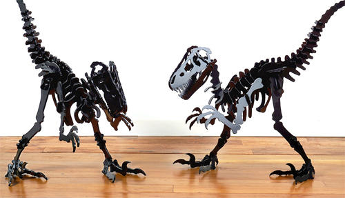 Velociraptor by Urban Metalworks