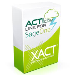 Xact CRM link for Sage One