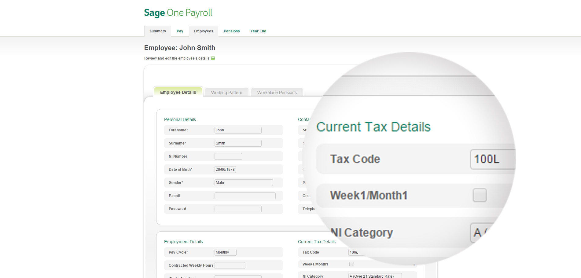Sage One Payroll is the simple way to manage HMRC tax codes for your employees so you can ensure they pay the right amount of tax.