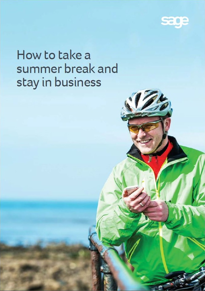 How to take a summer break and stay in business cover page