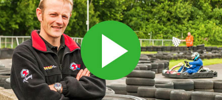 Iain Brown | Cambuslang Karting | Sage One Payroll User